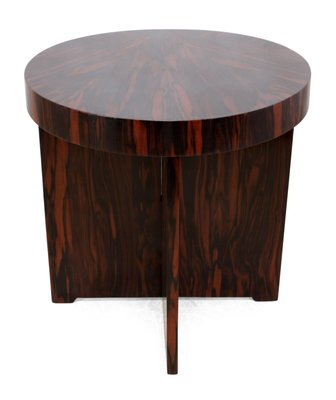 Art Deco Coffee Table In Macassar Ebony, 1930s 1