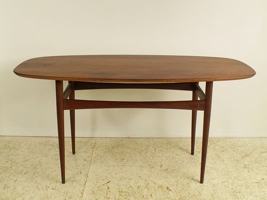 Danish Teak Dining Table, 1960s 1