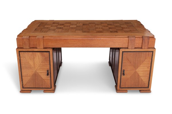 french art deco desk in oak for sale at pamono rh pamono com art deco desks reproduction art deco desks reproduction