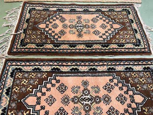 Tappeti Kilim Tunisini : Tappeti vintage in lana fatti a mano tunisia set di in vendita