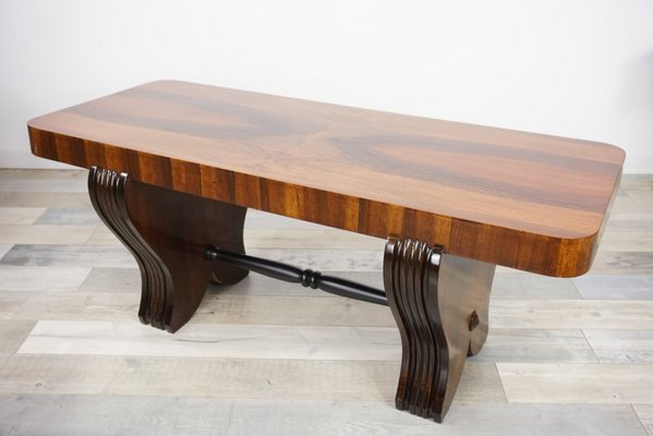 Art Deco Wooden Coffee Table 8