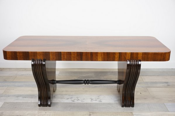 Art Deco Wooden Coffee Table 1