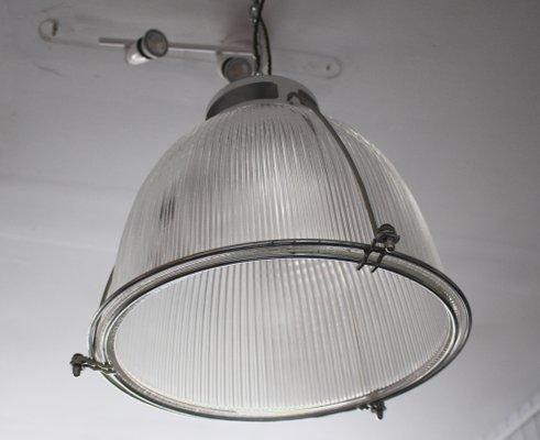 Vintage Gl Metal Ceiling Light From Holophane