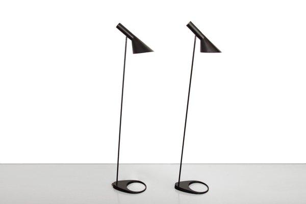 en 50 Lámpara para Louis de negro Poulsenaños Arne Visor pie de Jacobsen PwOn08k