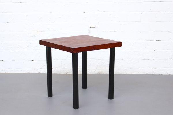 Small Teak Side Table.Mid Century Small Solid Teak Side Table 1960s