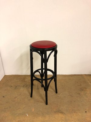 Amazing Vintage French Red Bar Stool Ncnpc Chair Design For Home Ncnpcorg