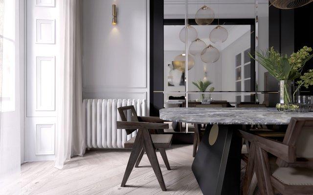 Tavolo da pranzo Henge di Artefatto Design Studio per SECOLO