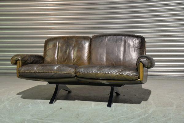 Schweizer Vintage Ds 31 Zwei Sitzer Sofa Von De Sede Bei Pamono Kaufen