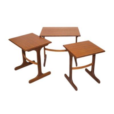 3 Victor G Plan1960sSet De Wilkins Pour Tables Gigognes Par Fresco rWQxBedCo