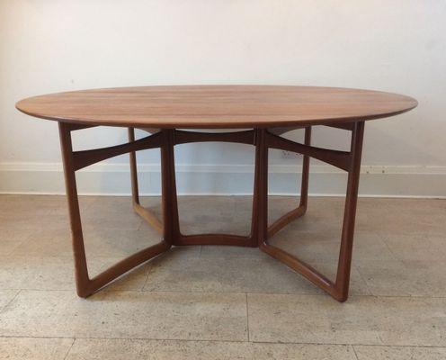 Gate Leg Table By Peter Hvidt U0026 Orla Mølgaard Nielsen For France U0026 Son,