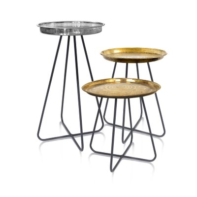 Enjoyable Tall New Casablanca Table In Brass By Young Battaglia For Mineheart 2018 Caraccident5 Cool Chair Designs And Ideas Caraccident5Info