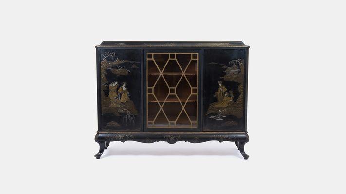 Antique Chinoiserie Cabinet form Maison Jansen 1 - Antique Chinoiserie Cabinet Form Maison Jansen For Sale At Pamono