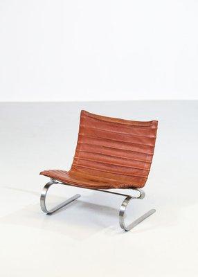 Superbe PK20 Lounge Chair By Poul Kjaerholm For E. Kold Christensen, 1968 1