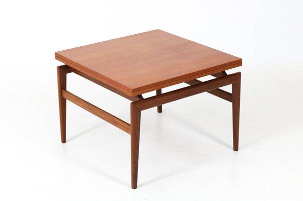 mid century modern danish teak coffee table 1960s