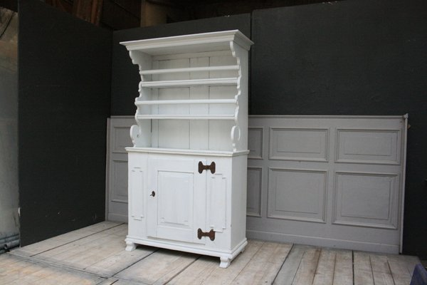 Antiker Schrank Aus Weißem Weichholz Bei Pamono Kaufen