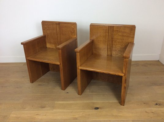 Art Deco Chairs 1930s Set Of 2 1