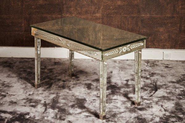 Tavolino da caffè in vetro di Murano di S.A.L.I.R., anni \'40