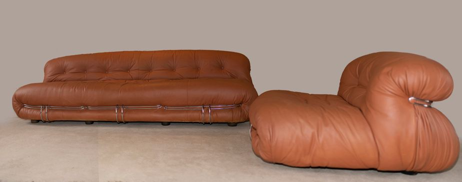 Soriana Sofa Lounge Chair By Tobia Afra Scarpa For Cassina