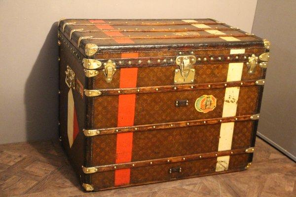 bc19633eb276 Grande Malle Steamer de Louis Vuitton, 1920s en vente sur Pamono