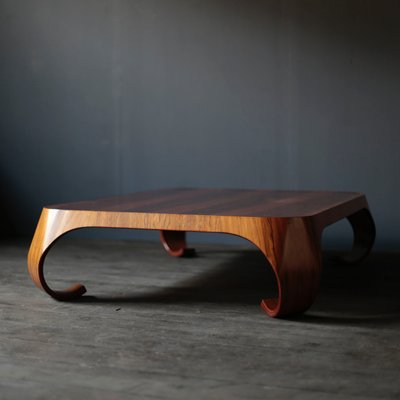Coffee Table By Isamu Kenmochi For Tendo Mokko, 1970s 5