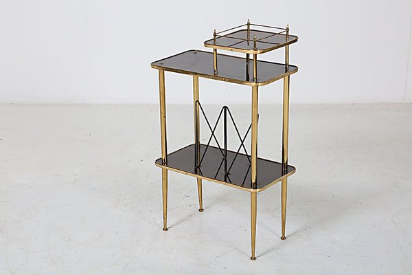 Small Table With Magazine Rack 1950s For Sale At Pamono