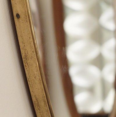 Specchio da parete grande, Italia, anni \'50 in vendita su Pamono