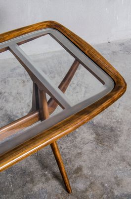 Cherrywood Coffee Table By Cesare Lacca For Cassina, 1960s 2