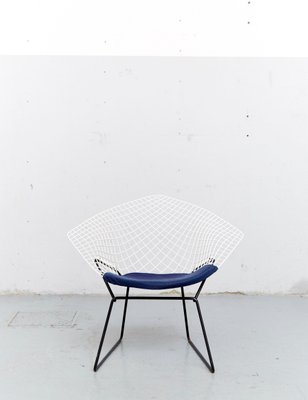 Model Diamond Chair By Harry Bertoia For Knoll S For Sale - Bertoia coffee table