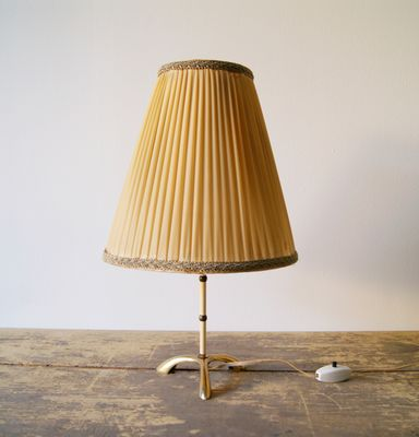 Lampe De Bureau Art Deco En Laiton En Vente Sur Pamono