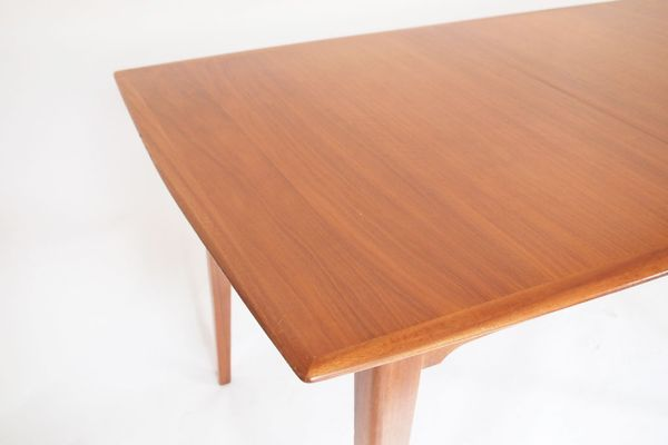 Teak Dining Table With Butterfly Extension 1950s 3