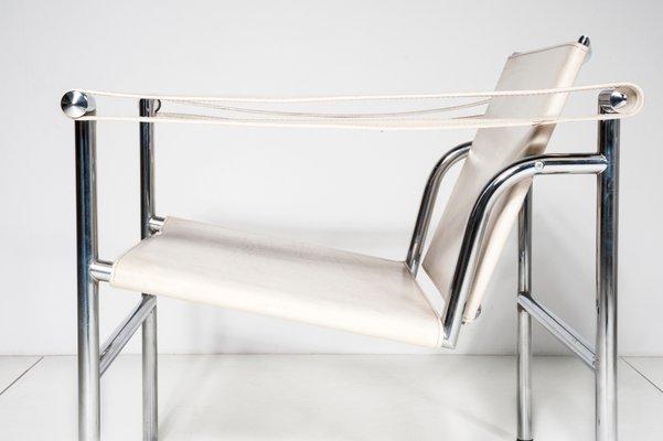Sedie LC1 di Le Corbusier per Cassina, anni \'80, set di 2