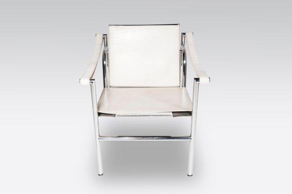 Sedie LC1 di Le Corbusier per Cassina, anni \'80, set di 2 in vendita ...