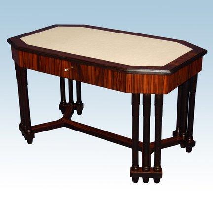 Art Deco Desk With 12 Macar Legs 1