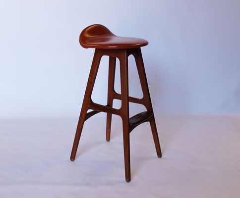 the best attitude c08d3 6744f OD61 Bar Stool by Erik Buch for Oddense, 1960s