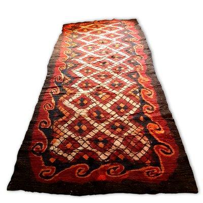 Large Antique Uzbek Camel Hair Rug For