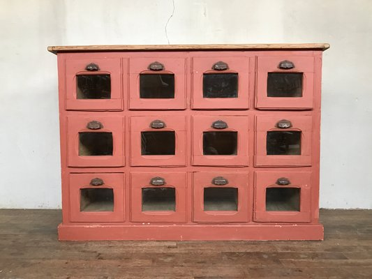 Antique Industrial Chest Of Drawers 1