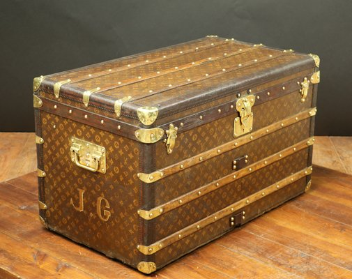 633224a870c8 Vintage Trunk from Louis Vuitton for sale at Pamono