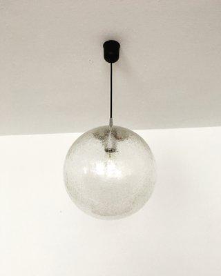 À Globe Putzler1960s Suspension Verre De Lampe En Peillamp; SVUzMqp