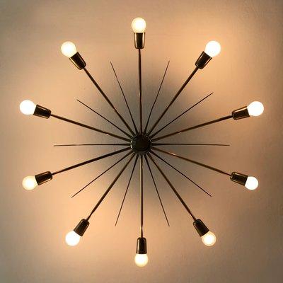 de en de modelo 5160 Lámpara techo de sol Kalmaraños 50 grande Sputnik forma VMpqUGSz