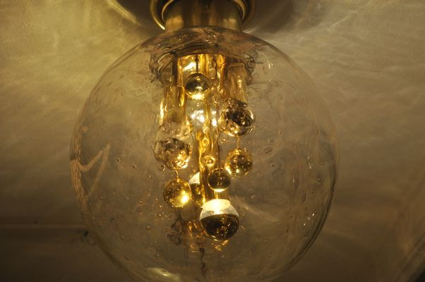 Lampade In Vetro Anni 70 : Lampada in vetro soffiato di doria leuchten anni 70 in vendita su