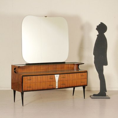 Vintage Vanity Chest With Mirror 2