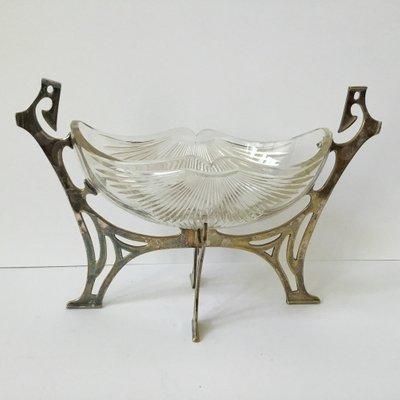 Art Nouveau Centerpiece From GAB, 1900s 1
