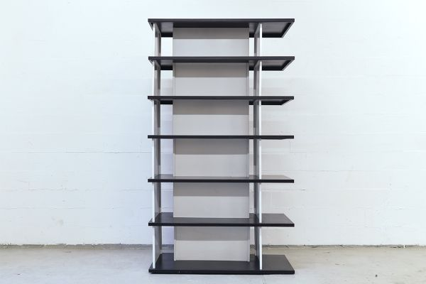 Minimalistic Shelving Unit or Room Divider by Wim Rietveld 1960s