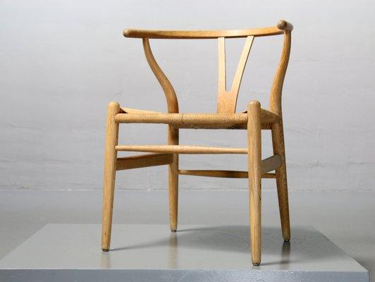 Vintage CH24 Wishbone Chair By Hans J. Wegner For Carl Hansen U0026 Søn 1