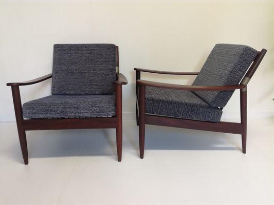 Skandinavische Sessel 1960er 2er Set Bei Pamono Kaufen