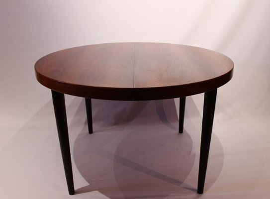 Extendable Rosewood Dining Table From Omann Jun 1960s
