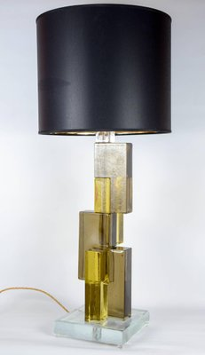 Vintage Murano Glass Table Lamp Bases