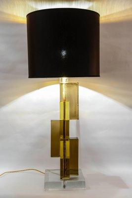 Pieds 2 Bureau Lampe Verre En Vintage MuranoSet De 7ygIY6vbf