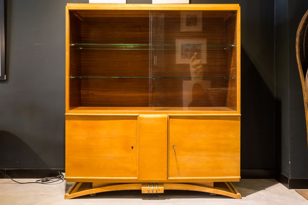 French Art Deco Vitrine, 1920s for sale at Pamono