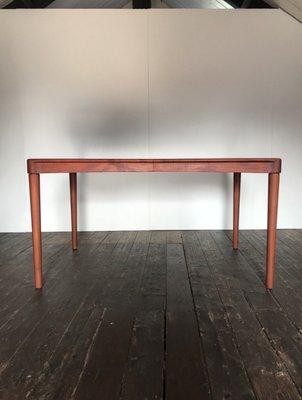 Table de Salle à Manger Mid-Century en Teck par H.W. Klein pour ...